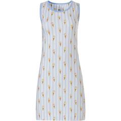 Rebelle sleeveless cotton nightdress 'sweet little ice creams'