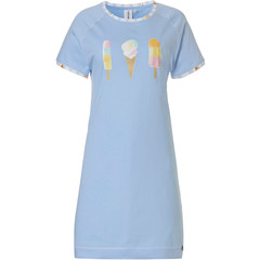 Rebelle short sleeve cotton nightdress 'sweet ice cream & lollipops'