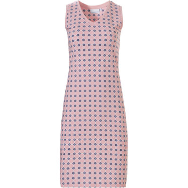 Pastunette mouwloze katoenen jurk met v-hals '60's Circles of Fashion'