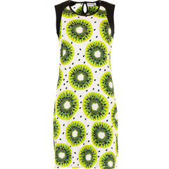 Pastunette Beach sleevelesss beachdress 'fruity kiwi passion'