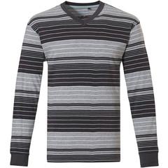 Pastunette for Men stripey cotton pyjama top