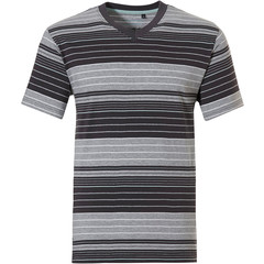 Pastunette for Men stripey cotton pyjama top