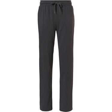 Pastunette for Men lange, donkergrijze, katoenen lange pyjama broek voor heren