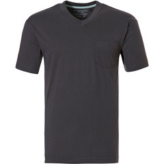 Pastunette for Men dark grey cotton pyjama top