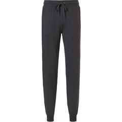 Pastunette for Men Mix & Match long dark grey mens cotton pyjama pants with cuffs