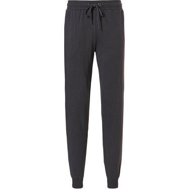 Pastunette for Men men's dark grey long cotton pyjama pants with cuffs