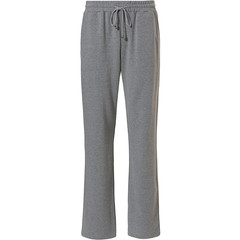 Pastunette for Men lange, grijze, pyjama broek met taillekoord