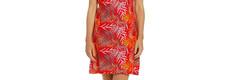 Pastunette 'pretty passion red' sleeveless cotton nightdress