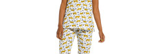 Rebelle katoenen capri pyjama met korte mouwen 'Rebelle wildcat'