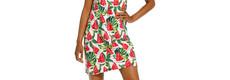 Rebelle 'fruity little water melon' sleeveless nightdress