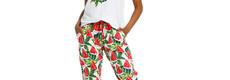 Rebelle 'fruity water melon' short sleeve 3/4 pyjama set