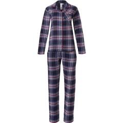 Rebelle flanellen doorknoop pyjama 'cool trendy checks'