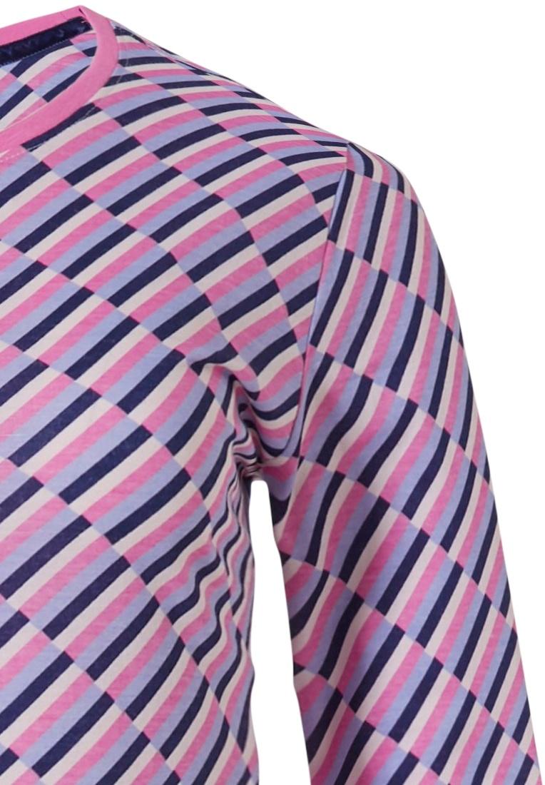 Rebelle nachthemd met lange mouwen 'fashion blocks'