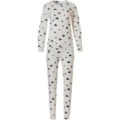 Rebelle long sleeve pyjama set with kangeroo pocket '♥loving hearts ♥ '