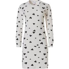 Rebelle long sleeve nightdress with kangaroo pocket  '♥loving hearts ♥ '