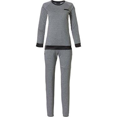 Pastunette Deluxe dames pyjama met lange mouwen 'chic elegant luxury'