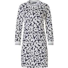 Pastunette Deluxe long sleeve soft velvet lounge dress 'dashes of fashion'