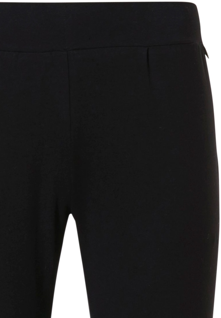 Rebelle Mix & Match black lounge style slim fit pants with an elasticated waist