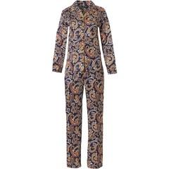 Pastunette Deluxe luxury full button pyjama 'elegantly paisley'