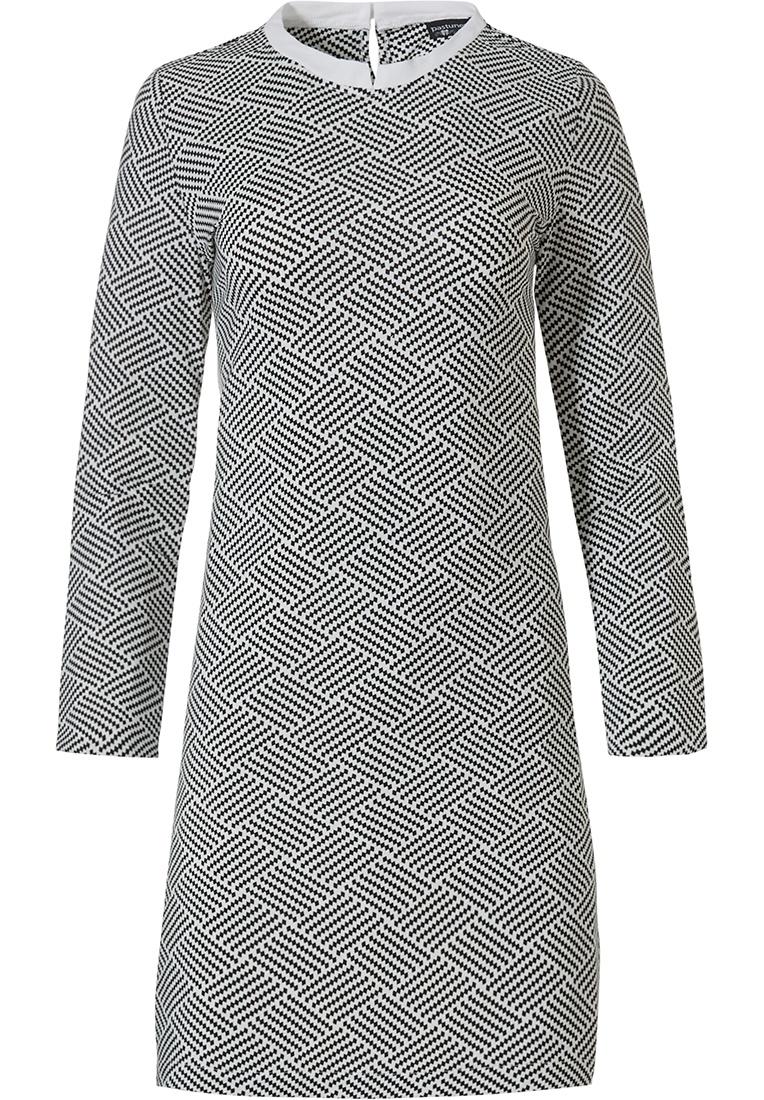 Pastunette Deluxe damesnachthemd 'monochrome blokken van mode'