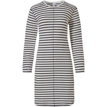 Rebelle dames nachthemd met lange mouwen 'trendy lines'