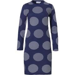 Pastunette katoen-modal dames nachthemd 'classy circles'