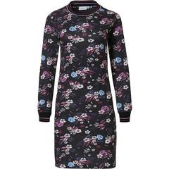 Pastunette ladies cotton-modal nightdress 'Winter floral passion'