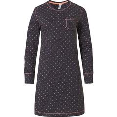 Rebelle cotton long sleeve nightdress 'dotty dreams'