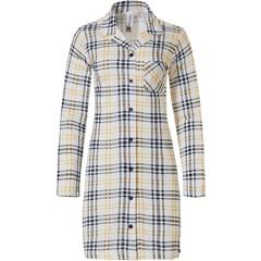 Rebelle full button nightdress 'trendy checks'