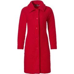 Pastunette Deluxe luxe bouclé doorknoop jasje 'chic rouge red'