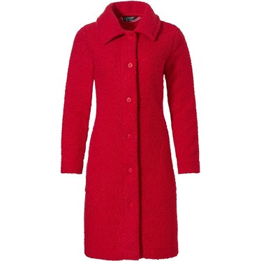 Pastunette Deluxe 'chic rouge red' luxury boucle full button jacket with collar and two pockets