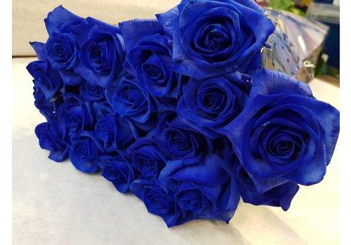 Rozen.nl Vendela - Blue roses - 100 pieces