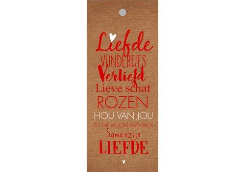 Rozen.nl Liefde kaartje