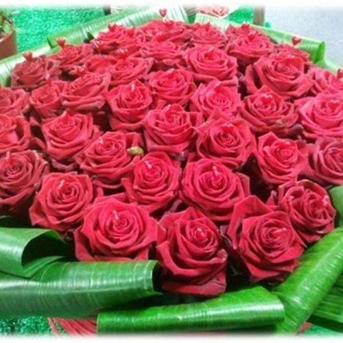Romantische rozen voor uw geliefde