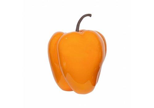 PotteryPots Pepper glazed Orange S/M