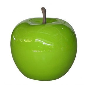 PotteryPots Apple glazed green S