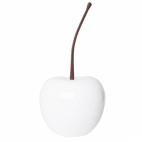 PotteryPots Cherry glossy white XS/S