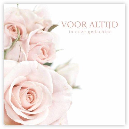 """Rozen.nl Condoleance Quatro """"voor altijd"""""""