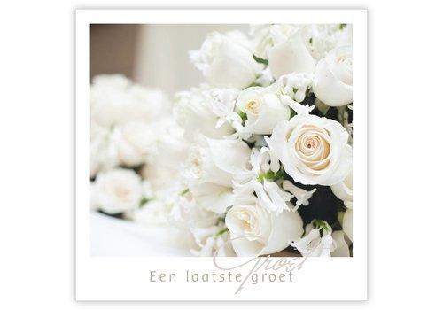 """Rozen.nl Condolence Quatro  """"een laatste groet"""""""