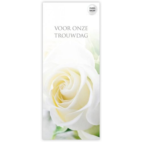 "Rozen.nl Card ""for our wedding anniversary"""