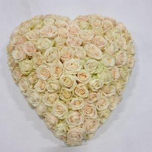 rozen.nl Rouwhart van rozen