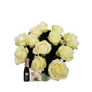 Rozen.nl 20 White Roses offer