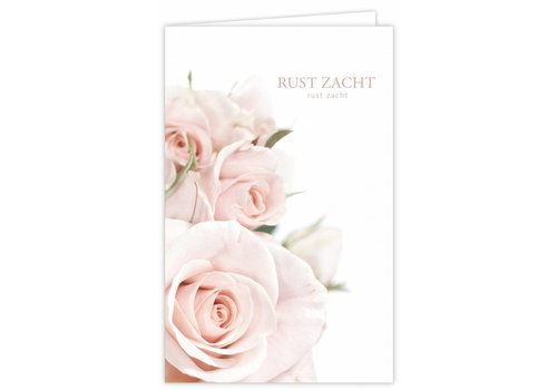 "Rozen.nl Condoleance Quatro ""rust zacht"" - XXL"