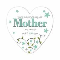 Mothersday card heart shape