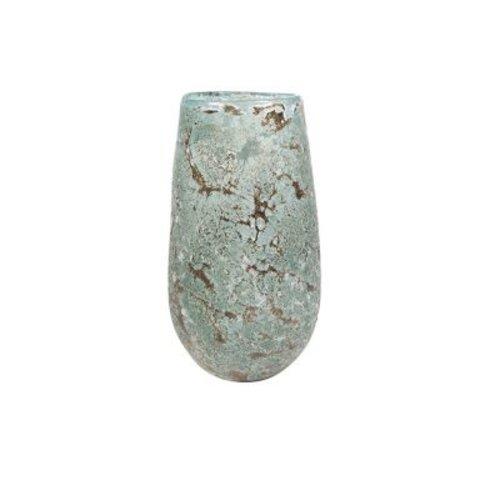 Rozen.nl Glass vase Aya Ice green