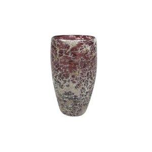 Rozen.nl Vase Aya eivormig dark violet