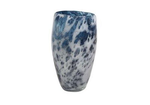 Rozen.nl Vase Aya eivormig petrol