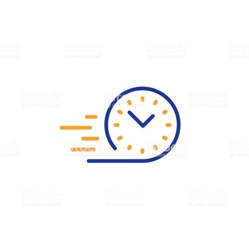 Tijd levering < 12:00 uur