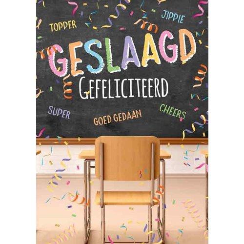 Rozen.nl Geslaagd kaartje