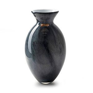 "Rozen.nl Vase Zzing ""jimmy"" grey H30 D19"